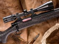 Specialty rifles developed by Jarrett translates into fun and phenomenal accuracy (Reverse Mudpie with Black Metal).